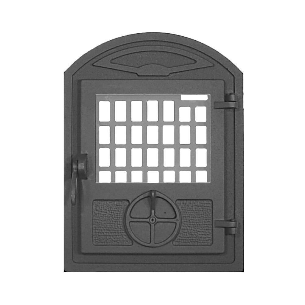 Madaras kisüveges ajtó huzatszabályzóval (ornamentika mintával)