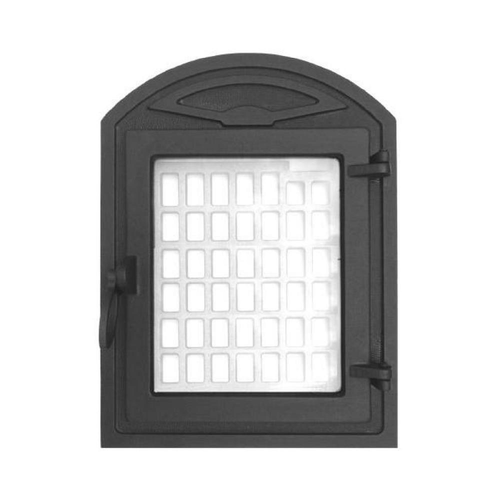 Madaras nagyüveges ajtó (ornamentika mintával)